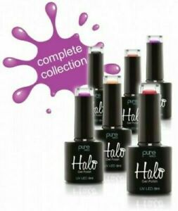 Halo Gel Polish by Pure Nails- UV LED 8ML Polish- Full Collection Available 8ml
