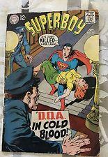 SUPERBOY COMIC BOOK #151 OCTOBER 1968 NEAL ADAMS COVER COMICS BOOK