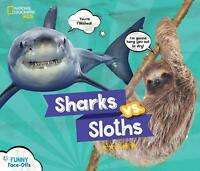 Sharks Vs Sloths HARDCOVER Picture Book ILLUSTRATED Brand New