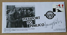 COMEDIANS PASSPORT TO PIMLICO 1998 FDC SIGNED BY THE ACTOR HARRY FOWLER