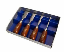 Kirschen Quality 4 Piece Bevel Edge Butt Chisel Set
