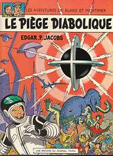 Blake et Mortimer. Le Piège diabolique. JACOBS 1972.
