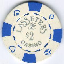 $2.00 Lasseters Casino - Alice Springs - Casino Chip