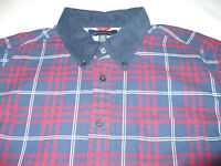 $79 NEW NWT TOMMY HILFIGER MENS SHIRT SIZE SZ XL L/S BUTTON UP TH EXTRA LARGE