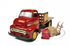 1953 FORD COE STAKE TRUCK WITH LOAD 1/34 NEW HOLLAND MODEL BY FIRST GEAR 19-3913