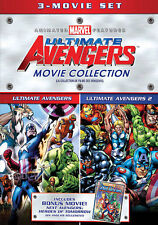 The Avengers Triple Feature: Ultimate Avengers 1 & 2 / Heroes of Tomorrow DVD