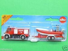 Siku Super Serie 1636 Unimog Feuerwehr mit Boot