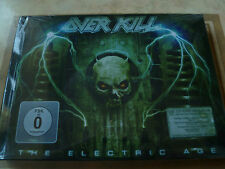 Overkill - The Electric Age (SEALED NEW LIMITED CD+DVD MEDIABOOK EDITION 2012)
