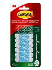 Command™ Decorating Clips with Water-Resistant Strips 17026H-AWES