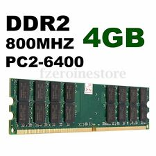 4GB AMD PC2-6400 DDR2 800 Mhz 240-pin RAM Memoria Memory SDRAM Dimm Desktop PC
