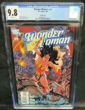 Wonder Woman #14 (2008) Michael Golden Variant Cover CGC 9.8 White Pages S443