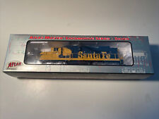 Atlas Master Locomotive #7910 Sd-26 4603 Santa Fe DCC Equipped Mint In Box CLEAN