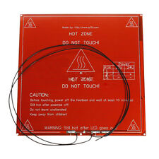 Neu MK2B PCB Heizbett Hot Plate fuer Prototyping / 3D-Drucker 3D Printer Rot GY