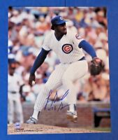 """LEE SMITH SIGNED 8x10 PHOTO ~ CHICAGO CUBS """"478 SAVES"""""""
