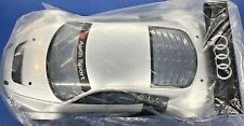 KYOSHO 1/8 Audi Sport R8 LMS Pre-painted Silver Body+Wing Set GT2 SEALED NEW