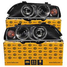 Hella Xenonscheinwerfer Set für BMW 5er E39 Bj 00-03 D2S/H7+Motoren Facelift LCI