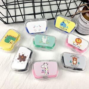 Portable Travel Cute Mini Pocket Contact Lens Case Holder Storage Contai*wf