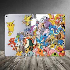 Case For iPad Air Mini Pro 12.9 11 10.5 9.7 10.2 Kawai Cute Pokemon Anime Kid