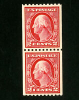 US Stamps # 442 Superb OG NH Pair