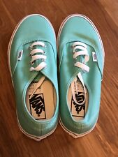 Vans Classic Green Shoes NEW Size UK 4.5 US Women's 7