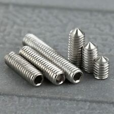 50Pcs M3 Srews 4/6/8/10/12/16mm SST Stainless Steel Six Inner Angle Concave Srew