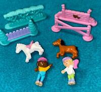 Polly Pocket Pony Jumpin Fun  COMPLETE 1995 Bluebird Vintage horse jumping