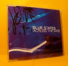 MAXI Single CD Blue States Across The Wire 3TR 2004 Trip Hop, Downtempo