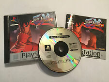 PS1 juego de Playstation 1 Psone Street Fighter EX Plus a + Caja Instrucciones Completo