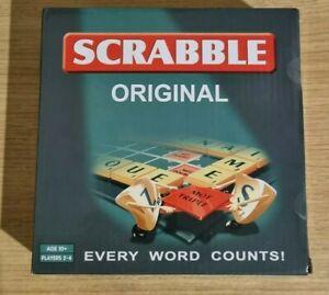 SCRABBLE Original Board Game, Smaller Box Travel Scrabble BRAND NEW