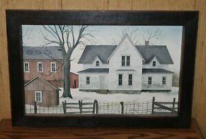 """Framed Billy Jacobs """"1890 Farmstead"""" farm 12x18 farmhouse picture"""
