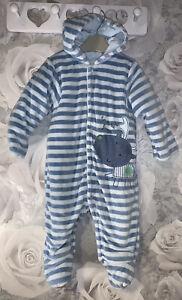 Boys Age 3-6 Months - M&S Snowsuit