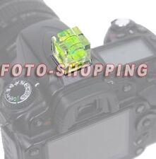 LIVELLA 1 ASSE SLITTA FLASH FOTOCAMERA NIKON D3400 D3300 D3200 D3100 D3000 D80