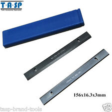 156x16.3x3mm HSS Wood Thickness Planer Blades Woodworking Power Tools Accessory
