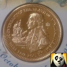 1995 GIBRALTAR £5 DEATH OF ADMIRAL NELSON FIVE POUNDS COIN UNC FDC ONLY 2,500!