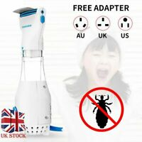 Electric Lice V-Comb Eliminating Vacuum Head Lice Eggs Removal Treatment Brush