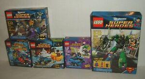 DC LEGO BATMAN LOT 6858 76069 76010 76093 & BONUS 6862