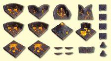 Dwarven Forge Master Maze DOE Hellscape 1 Set NEW IN BOX Sealed MM-036 OOP