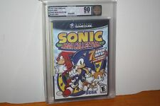 Sonic Mega Collection (Gamecube) NEW SEALED BLACK LABEL, MINT GOLD VGA 90, RARE!