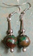 Elegant gem stone beaded EARRINGS (T2)