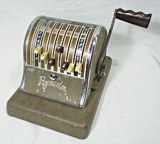 Vintage Paymaster 600 Check Writer 7 Column Tested Works No Key Needed