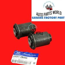 GENUINE HYUNDAI VERACRUZ SANTE FRONT LOWER REARWARD CONTROL ARM BUSHING SET OF 2