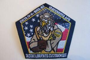 """NROL-82 PAYLOAD MISSION SPACE PATCH 4"""" LAUNCHED ON DELTA IV HONORS WW II ACE"""