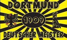 Fahne Flagge Dortmund Deutscher Meister 90 x 150 cm