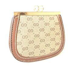 GUCCI Old Gucci micro GG purse used 3429-11A20
