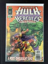 INCREDIBLE HULK HERCULES UNLEASHED #1  MARVEL  COMICS 1996 VF+