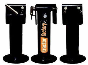1 X HEAVY DUTY HYDRAULIC TRAILER JACK STAND LEG - HUGE 9000LBS CAPACITY!