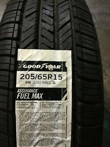 1 New 205 65 15 Goodyear Assurance Fuel Max Tire