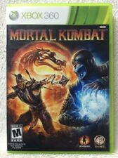 Mortal Kombat XBOX 360 Complete with instructions and download cards!