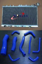 Aluminium Radiator + Silicone Hose For Nissan N14 GTIR SR20DET Pulsar N15