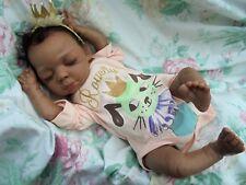 "Désolé vendu/commandes prises bébé reborn Baylee 22"" 6 lb (environ 2.72 kg) 3 oz (environ 85.05 g) josynn biracial baby girl"